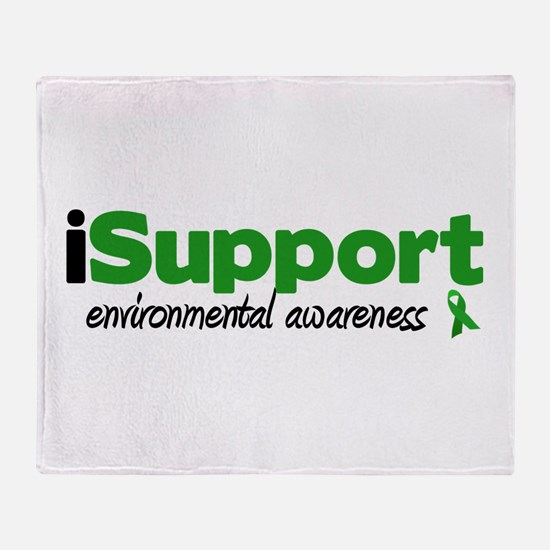 iSupport Environment Throw Blanket