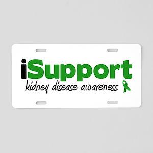iSupport Kidney Disease Aluminum License Plate