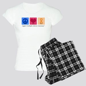 Peace Love Cure MS Women's Light Pajamas