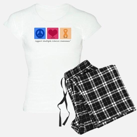 Peace Love Cure MS Pajamas