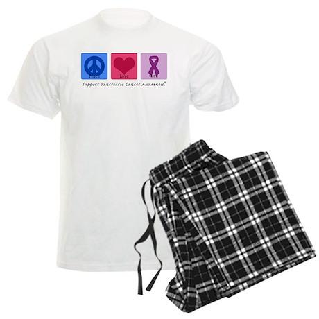 Peace Love Cure PC Men's Light Pajamas