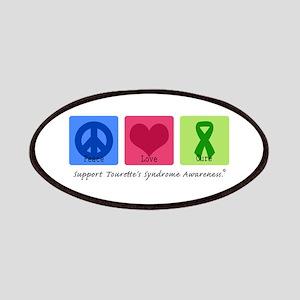 Peace Love Cure Tourette Patches