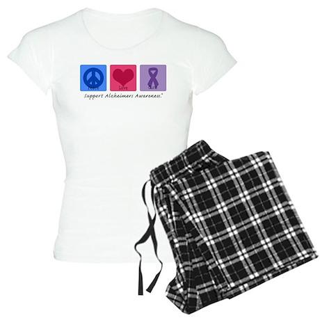 Peace Love Cure AD Women's Light Pajamas