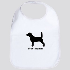 Beagle - Your Text! Bib