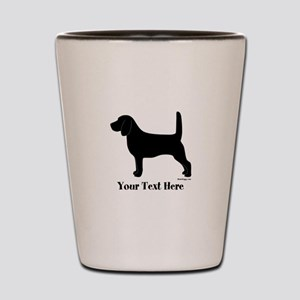 Beagle - Your Text! Shot Glass