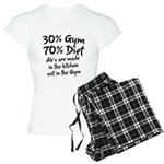 30% Gym Women's Light Pajamas