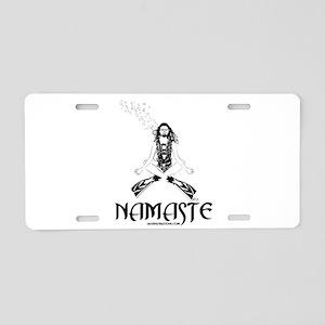 Namaste Scuba Aluminum License Plate
