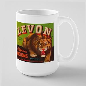 Levon Lion Melons Large Mug