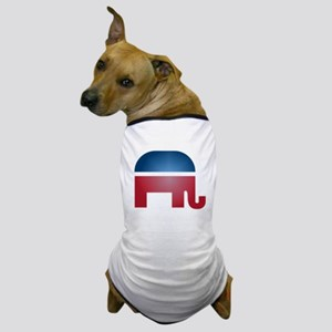 Blurry Elephant Dog T-Shirt