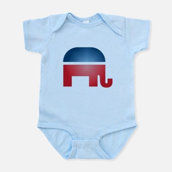 Blurry Elephant Infant Bodysuit