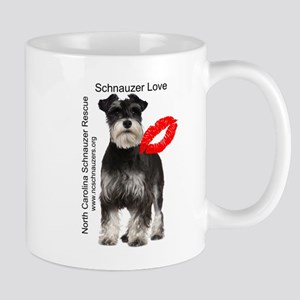 Schnauzer Love Mug