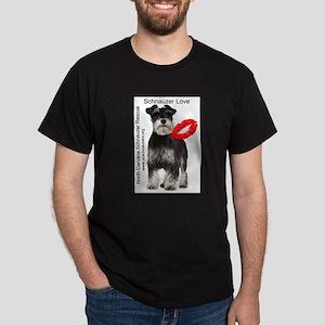 Schnauzer Love Dark T-Shirt