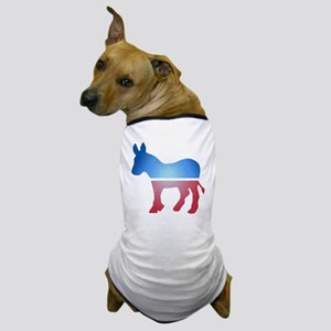 Stained Glass Donkey Dog T-Shirt