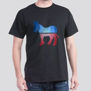 Stained Glass Donkey Dark T-Shirt