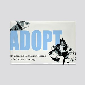 Adopt Logo Rectangle Magnet