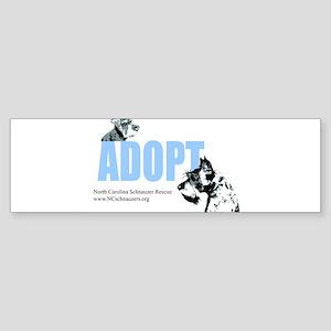 Adopt Logo Sticker (Bumper)