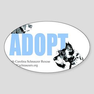 Adopt Logo Sticker (Oval)