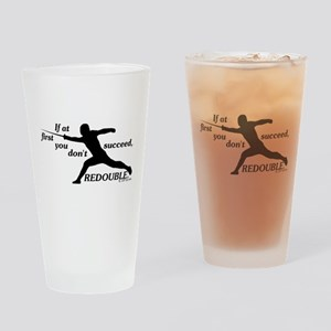 Redouble Pint Glass