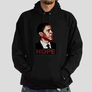 Obama Hope Hoodie (dark)