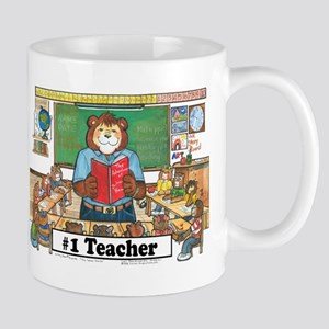 Elementary Teacher, Male -  Mug