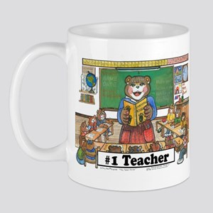 Female Elem. Teacher Mug