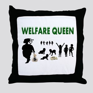 BREEDING PAYS OFF Throw Pillow