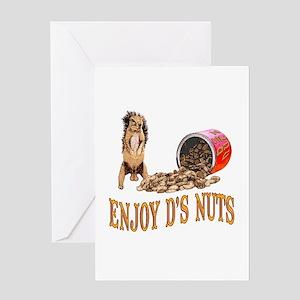 Enjoy D's Nuts Greeting Card