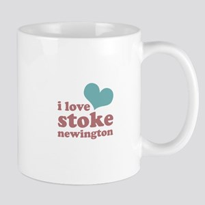i love stoke newington (blue/ Mug