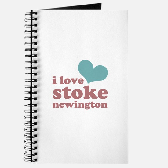 i love stoke newington (blue/ Journal