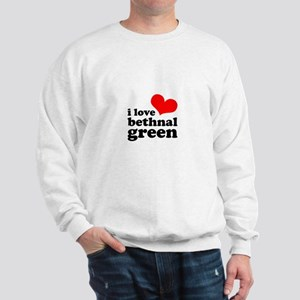 i love bethnal green (red/bla Sweatshirt