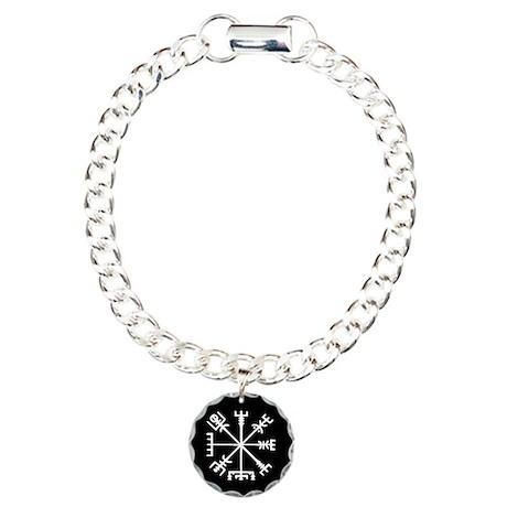 Viking Compass : Vegvisir Charm Bracelet, One Char