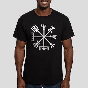 Viking Compass : Vegvisir Men's Fitted T-Shirt (da