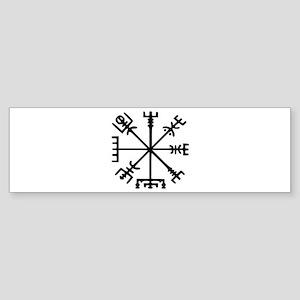 Viking Compass : Vegvisir Sticker (Bumper)