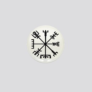 Viking Compass : Vegvisir Mini Button