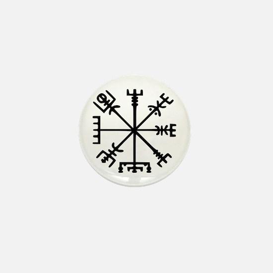 Viking Compass : Vegvisir Mini Button