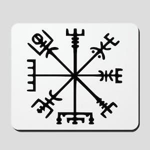 Viking Compass : Vegvisir Mousepad