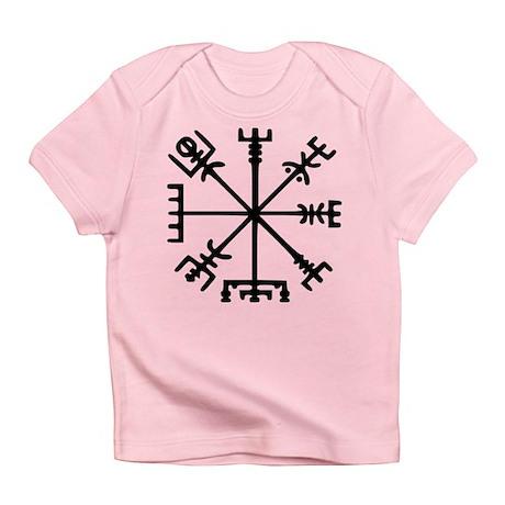 Viking Compass : Vegvisir Infant T-Shirt