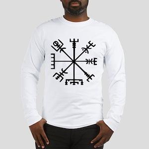 Viking Compass : Vegvisir Long Sleeve T-Shirt