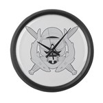 Spec Ops Diver Large Wall Clock
