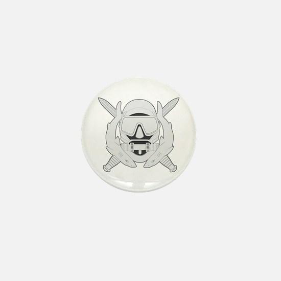 Spec Ops Diver Mini Button