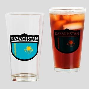 Kazakhstan Patch Pint Glass