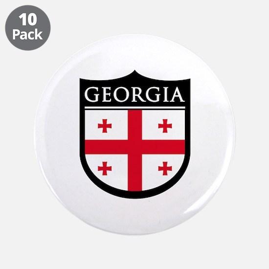 "Georgia (Rep) Patch 3.5"" Button (10 pack)"