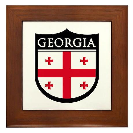 Georgia (Rep) Patch Framed Tile