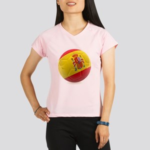 Spain World Cup Ball Women's Sports T-Shirt