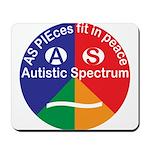 Autistic Spectrum symbol Mousepad