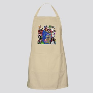 Fishing Shark Infested Waters Apron