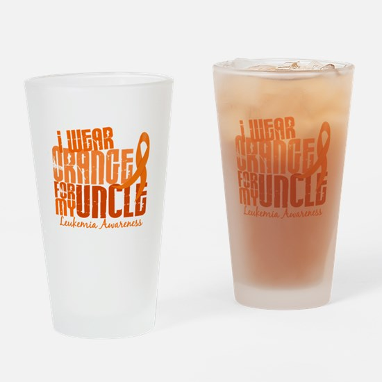 I Wear Orange 6.4 Leukemia Pint Glass