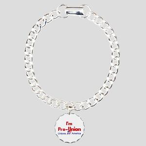 Pro Union Charm Bracelet, One Charm