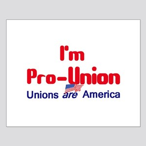 Pro Union Small Poster