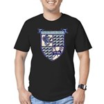 USS DEALEY Men's Fitted T-Shirt (dark)